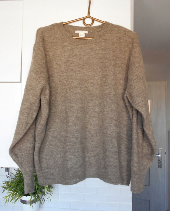 H&M sweter oversize 9183336027 Odzież Damska Swetry KY