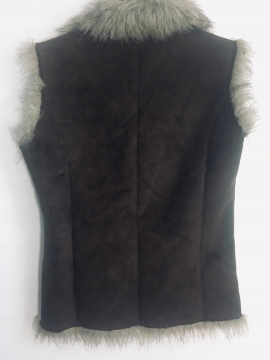 Mia moda_sliczna Kamizelka na polarku 38 ciepla 9810198507 Odzież Damska Swetry UV GKUAUV-1