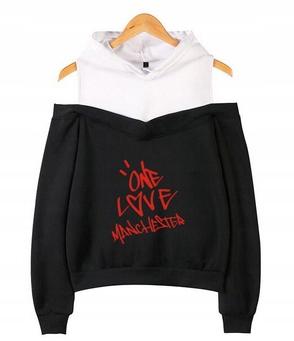 Women's blouse with Ariana Grande M 38's Hood 9658264537 Odzież Damska Topy HK LRHXHK-2