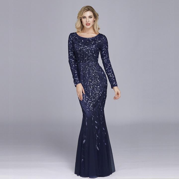 Francuski Szyk Suknie ślubne Suknia Wieczorowa 54 9636556430 Odzież Damska Sukienki wieczorowe UX FIFKUX-6