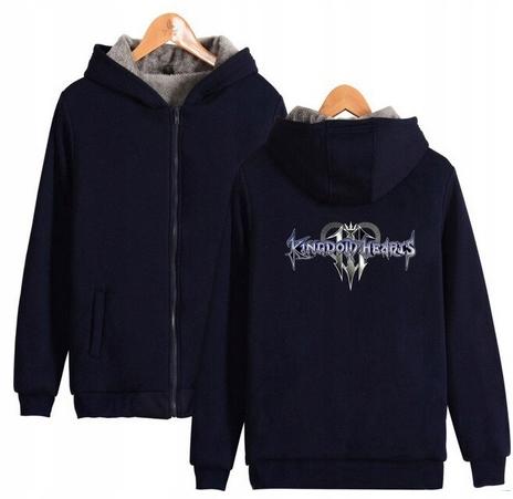 Warm Capture blouse with GRY Kingdom heart 4XL 48 9658455141 Odzież Damska Topy TS BBIVTS-1