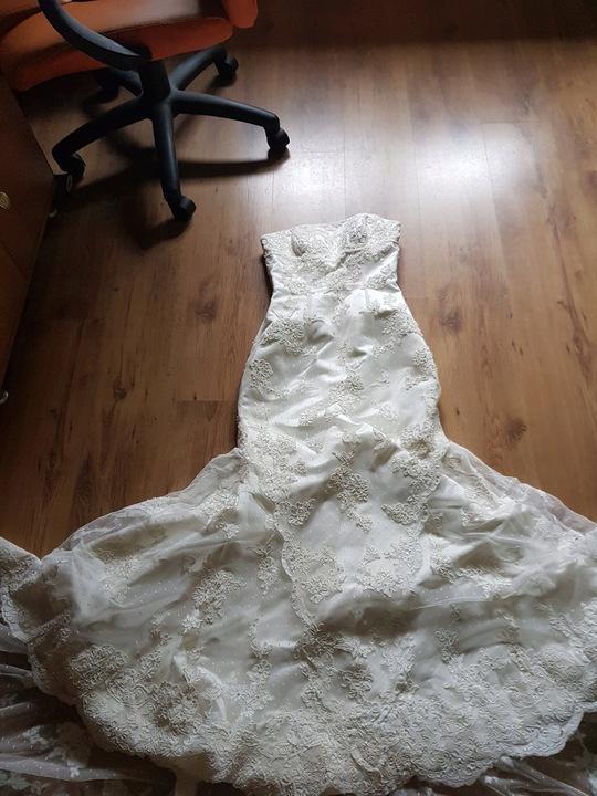 suknia ślubna White one 424 roz. 36 9441591114 Odzież Damska Sukienki wieczorowe RE MVVNRE-8