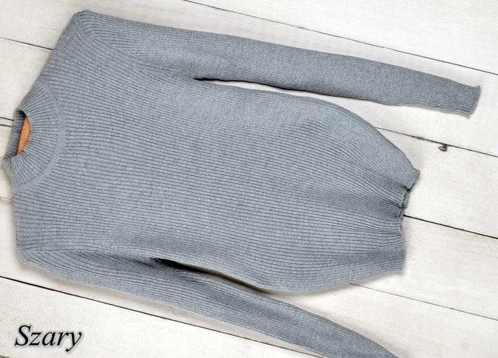 070 CIEPŁY SWETER GOLF STÓJKA PRZYLEGAJĄCY MIX 9745412111 Odzież Damska Swetry JA TBNOJA-6