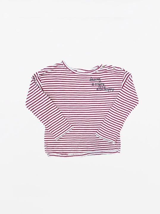 Bluzka z długim rękawem, Zara, Czerwony, 98 9445775088 Dziecięce Odzież BD ZRSYBD-8
