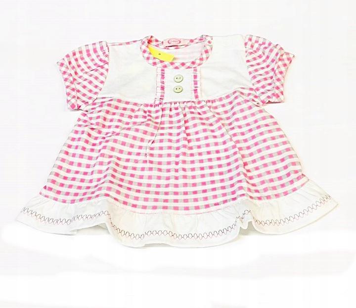 Bluzka z krÓtkim rękawem z falbankami Danny roz.62 9630205262 Dziecięce Odzież ZE CJKEZE-9