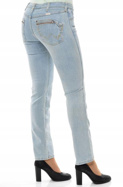 WRANGLER spodnie LOW waist straight MAE _ W28 L32 9500829777 Odzież Damska Jeansy YK XGBHYK-3
