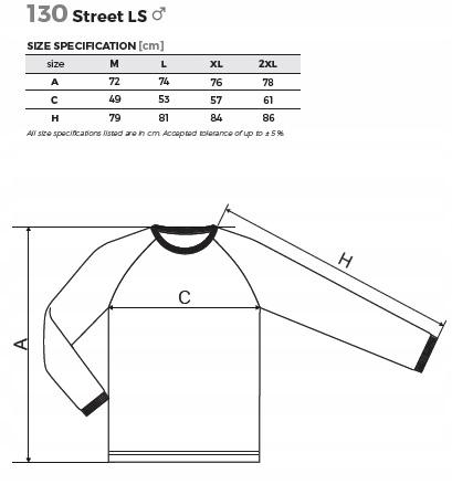 Koszulka STREET LS z długim rekawem ADLER jakość! 9177273748 Odzież Męska Koszulki z długim rękawem CH ORQGCH-5