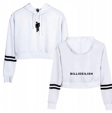 HIT Warm Billie Eilish's New Model L 40 9658263470 Odzież Damska Topy JR WNNAJR-9