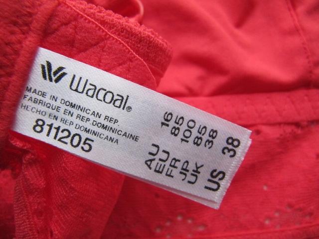 WACOAL HALO LACE = 85C 9904291243 Bielizna Damska TM RVLCTM-4