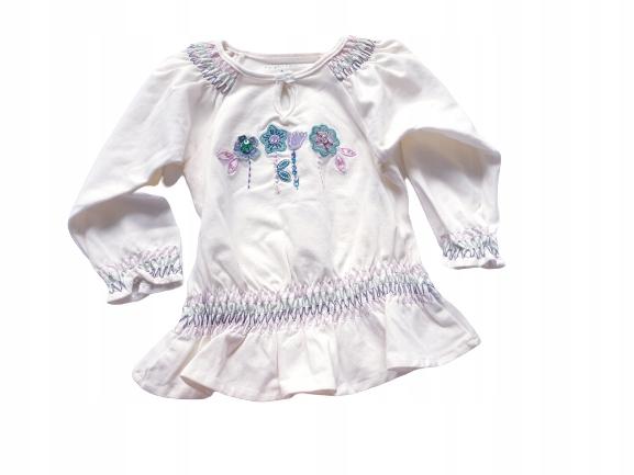 PUMPKIN P. bluzeczka z marszczeniami 80/86 cm 9931561162 Dziecięce Odzież NL JXVKNL-5