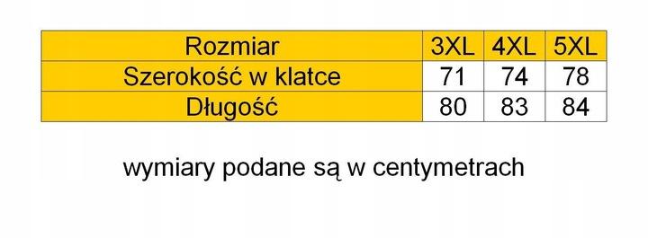 KITARO KOSZULKA POLO DUŻE ROZMIARY 4XL 9533931698 Odzież Męska Koszulki polo XL MSAGXL-4
