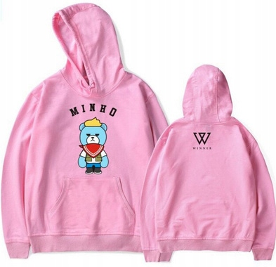 Seungyoon hoodie MISIO 3XL 46 9654102580 Odzież Damska Topy LF KSGELF-2