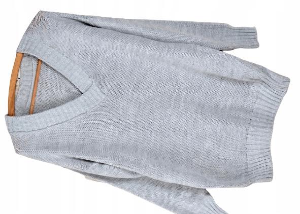 W25 CIEPŁY MIŁY W DOTYKU MIĘCIUTKI SWETER dekolt V 9696970727 Odzież Damska Swetry RB FODBRB-9