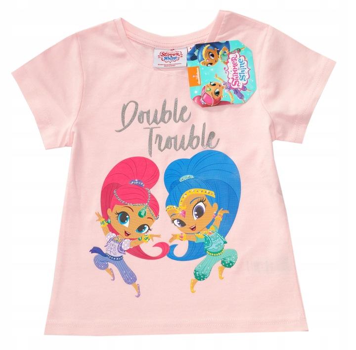 Extra bluzka SHIMMER&SHINE NEW 104-110 9129549727 Dziecięce Odzież AY DFSMAY-6