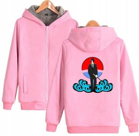 Warm blouse with ANIME Naruto S 36 Hood 9658449713 Odzież Damska Topy XQ EBGEXQ-5