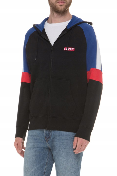 BLUZA MĘSKA LEVIS PIECED ZIP HOODIE XL KAPTUR 9564854841 Odzież Męska Bluzy NF DADCNF-5