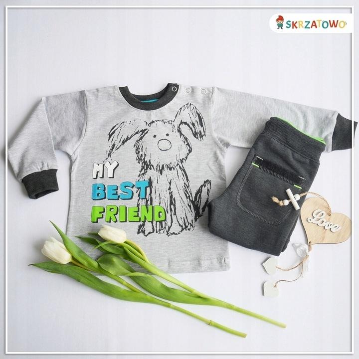 Bluzeczka z pieskiem pol. prod. 86 9754907002 Dziecięce Odzież VC HKUBVC-1