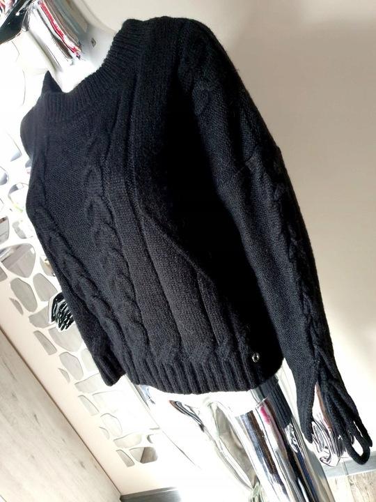 COCOMORE Sweter Czarny Nowa Kolekcja MUST HAVE! 9688841425 Odzież Damska Swetry MH UYFZMH-2