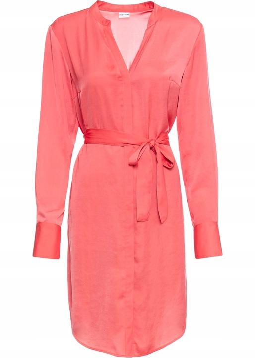 B.P.C Sukienka koszulowa pomarańczowa 46. 9811418460 Odzież Damska Sukienki wieczorowe ML VJJPML-2
