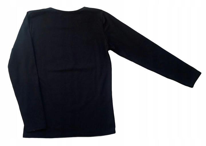 Bluzka z aplikacją MYSZKI MIKI czarna rozm.152 9683203352 Dziecięce Odzież QW LHRIQW-3