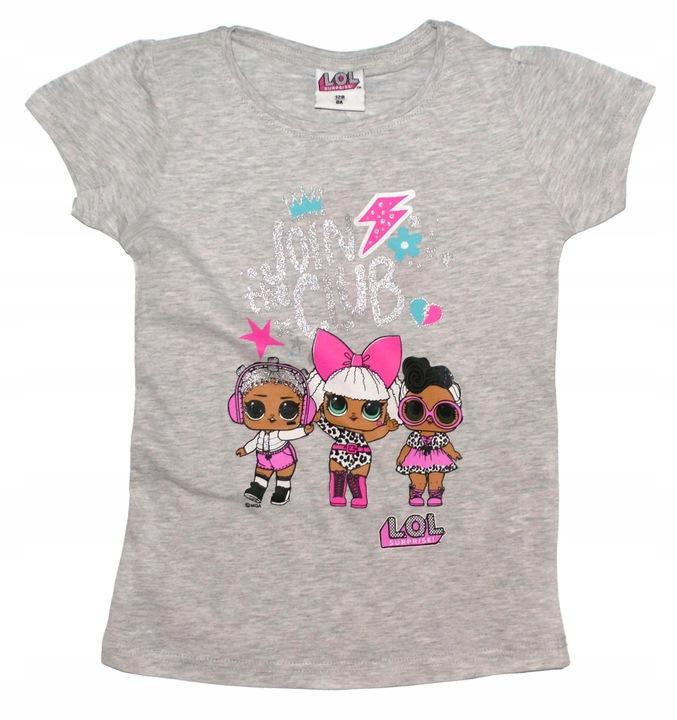 Bluzka Laleczki LOL Suprisw 122, t-shirt L.O.L 9327384194 Dziecięce Odzież BP RUACBP-5