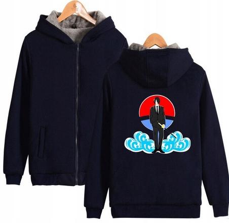 Warm blouse with ANIME Naruto 4XL 48 9658454300 Odzież Damska Topy ZY OXAMZY-6