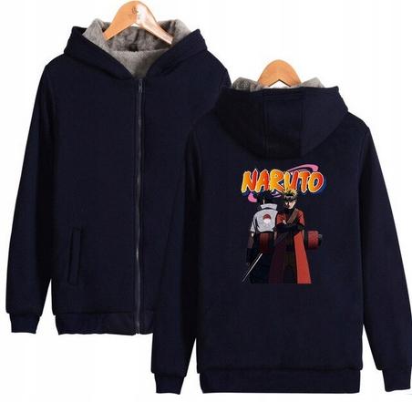 Warm blouse with ANIME Naruto M 38 Hood 9658454695 Odzież Damska Topy CO KRQNCO-3