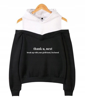 Women's blouse with Ariana Grande M 38's Hood 9654102724 Odzież Damska Topy RM SEFCRM-4