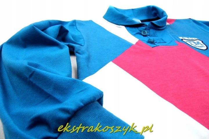 LW-575 bluzKa/A *BRAVE* 158/164blue 9567497389 Dziecięce Odzież WB TAOFWB-9