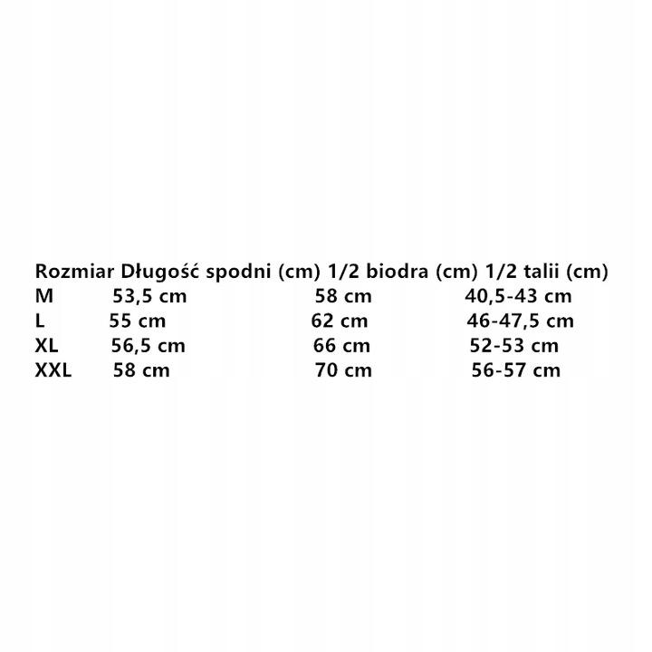 100% Poliester Szorty Ybn-703-B341 Rozmiar:XXL K P 9560695133 Odzież Męska Spodenki ZW FQSNZW-9