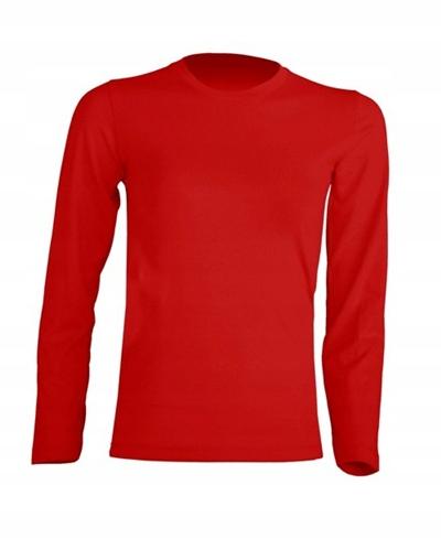 Bluzka dziecięca z długim rękawem JHK RED 128cm 9618304734 Dziecięce Odzież XZ PEXDXZ-4