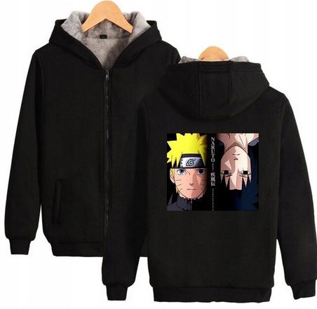 Warm blouse with ANIME Naruto S 36 Hood 9658268990 Odzież Damska Topy UF JOWDUF-4