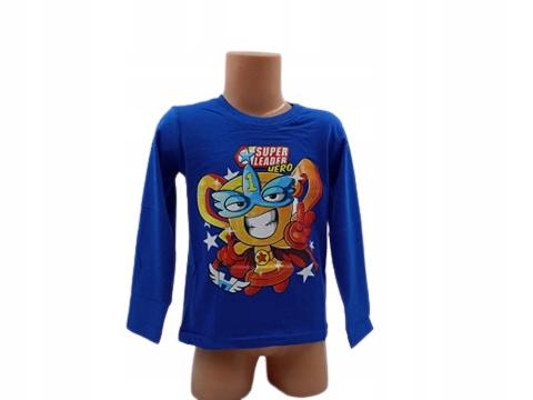 Super Zings bluzka licencja rozmiar 128 9697993342 Dziecięce Odzież OA TLVDOA-2
