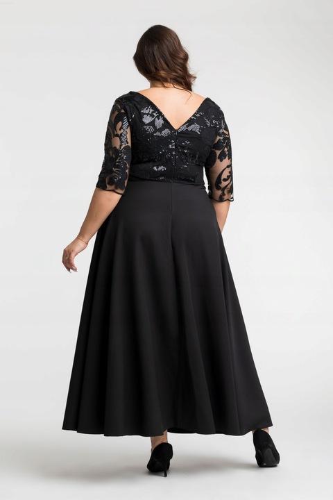 Suknia wieczorowa plus size sukienka na wesele 44 9553790065 Odzież Damska Sukienki wieczorowe BX ZXPFBX-6