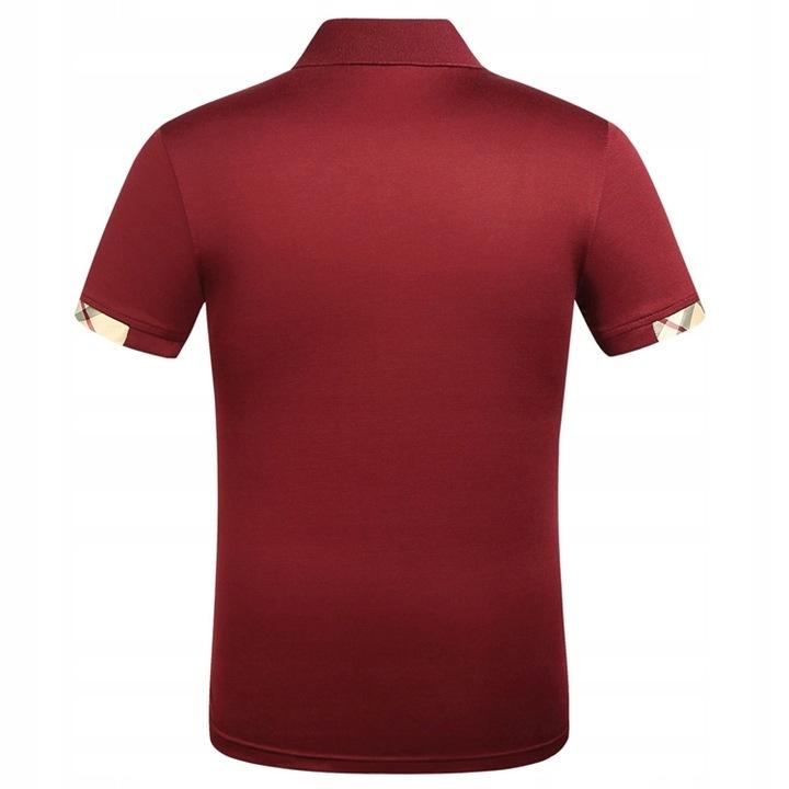 Burberry short sleeve embroidered polo shirt 9617686865 Odzież Męska Koszulki polo AF AJRHAF-8