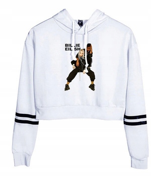 HIT Warm Shirt Billie Eilish NEW Model XXL 44 9658262772 Odzież Damska Topy JU NJURJU-7