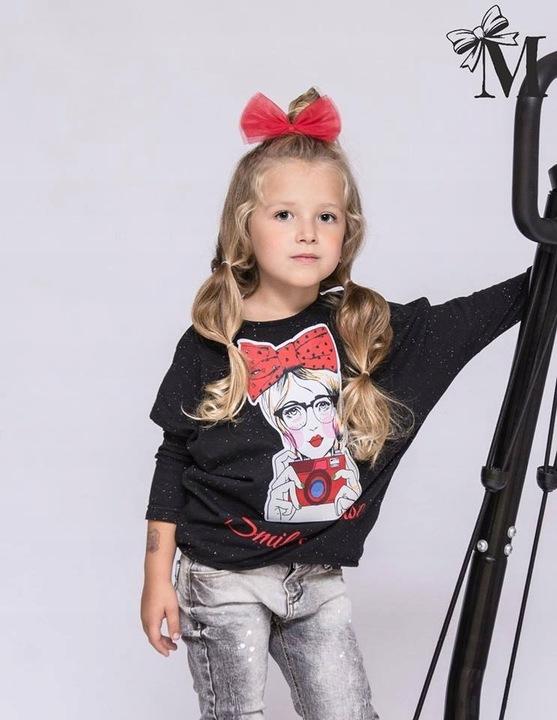 MałaMI mała mi koszulka bluzka 122 128 9912591385 Dziecięce Odzież ZL HBOTZL-2