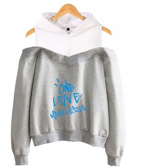 Women's blouse with Ariana Grande M 38's Hood 9654105214 Odzież Damska Topy NK RBNANK-7