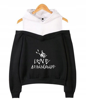 Women's blouse with Ariana Grande M 38's Hood 9654104558 Odzież Damska Topy RI IFJURI-2