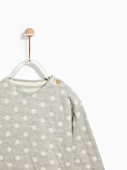 Bluzka Zara 80 9/12 miesięcy sweter 9229249642 Dziecięce Odzież CU DJOXCU-7