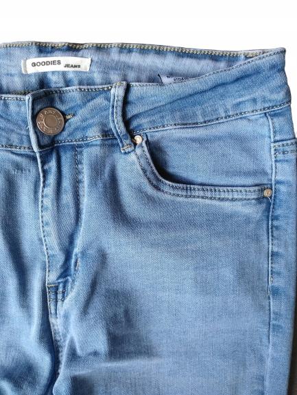 Klasyczne damskie spodnie Jeans Goodies Plus Size 9528942510 Odzież Damska Jeansy OA WFBBOA-4