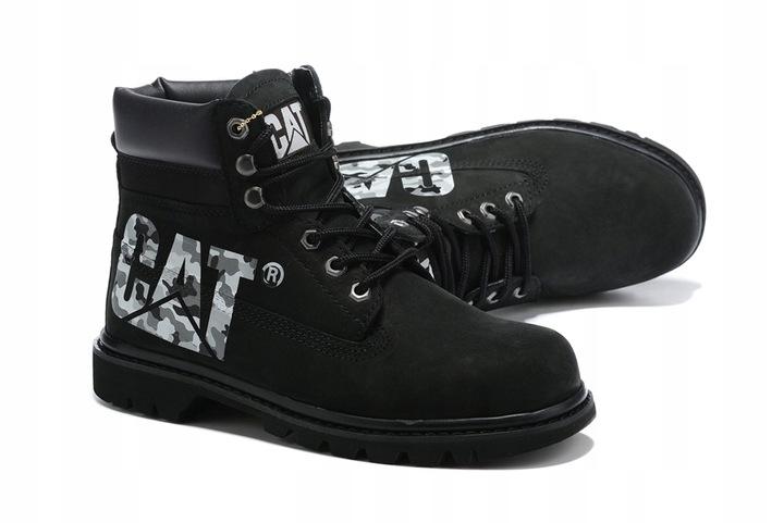 Caterpillar Buty CAT Tooling Boots Workwear Black 9814466794 Buty Męskie Sportowe OJ CMFGOJ-2