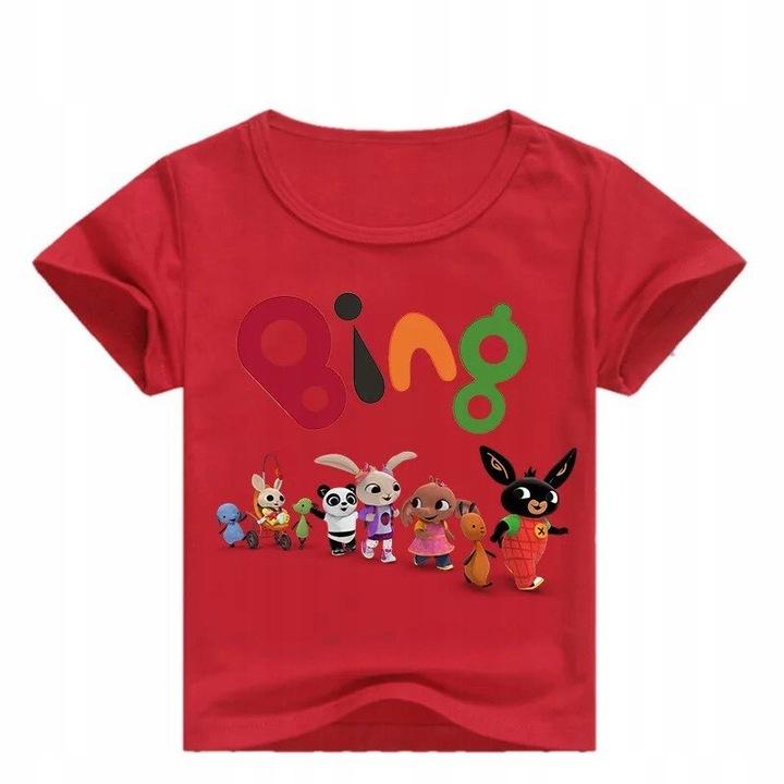 BLUZKA T-SHIRT KRÓTKI RĘKAW BING I PRZYJACIELE 134 9859456755 Dziecięce Odzież MT FJTVMT-6