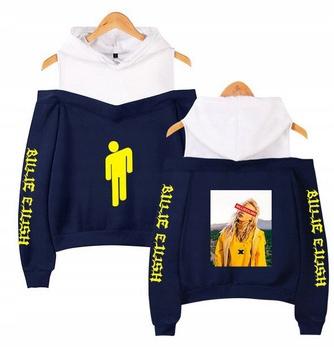 Warm Billie Eilish Capture Shirt XXL 44 9654100486 Odzież Damska Topy UK KHQWUK-9