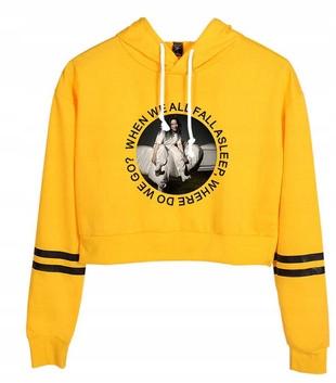 HIT Warm Shirt Billie Eilish NEW XL 42 9658263783 Odzież Damska Topy NL BMBQNL-8