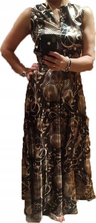 Sukienka maxi komplet 9225437191 Odzież Damska Sukienki wieczorowe YA SJAPYA-4