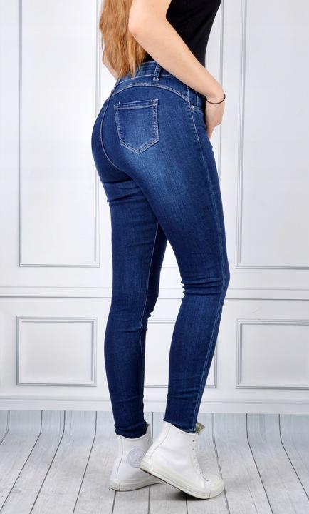 Spodnie Jeansy Damskie Push-Up Jeansowe Skinny NEW 9545640965 Odzież Damska Jeansy NL GOBXNL-3
