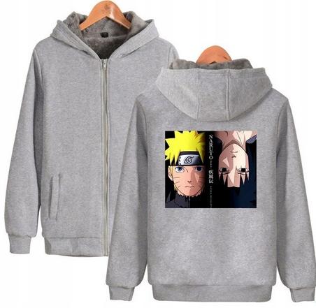 Warm blouse with ANIME Naruto L 40 Hood 9658454536 Odzież Damska Topy ZL RDQTZL-7