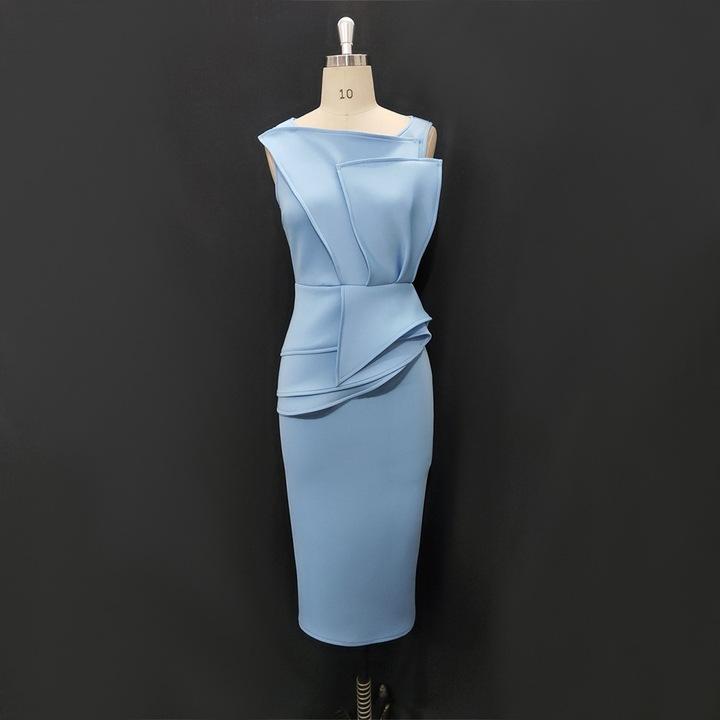 elegancka sukienka o kroju syreny spÓdnica modowa 9678329656 Odzież Damska Sukienki wieczorowe LH FTCDLH-6