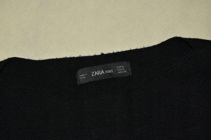 ZARA- CZARNY MODNY SWETER - S 9840187439 Odzież Damska Swetry DA JUJFDA-7